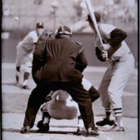 Ted Williams, Yankee Stadium, The Bronx, N.Y.