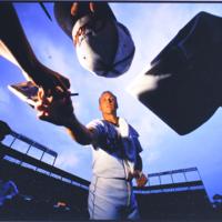 Cal Ripken, Jr. Signing Autographs, Baltimore, 1995